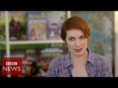 Meet Felicia Day known as the Queen of Geek - BBC News
