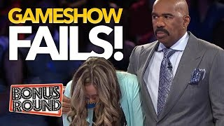 Video BIGGEST GAMESHOW FAILS EVER! Family Feud, Match Game, Celebrity Name Game! Bonus Round MP3, 3GP, MP4, WEBM, AVI, FLV Januari 2019