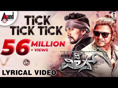 Video Tick Tick Tick New Lyrical Video 2018 | The Villain | ShivarajKumar | Sudeepa | Prem | Arjun Janya download in MP3, 3GP, MP4, WEBM, AVI, FLV January 2017