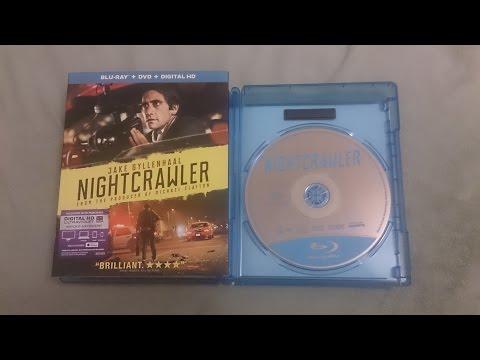 Nightcrawler Blu ray unboxing