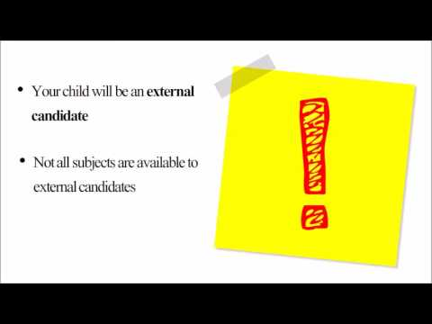Home Education:  How to Choose Exam Subjects to Study (видео)