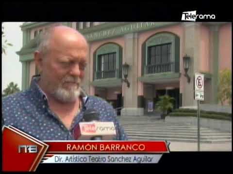Teatro Sánchez Aguilar entre reapertura y obras online