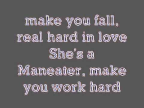 Nelly Furtado! ~Maneater~ (with lyrics)