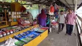 Bandar Seri Begawan Brunei  City new picture : Bandar Seri Begawan, Brunei - Kianggeh Market HD (2015)
