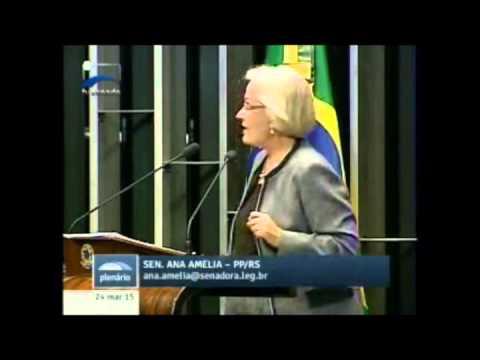 Ana Amélia enfatiza que governo deve dar o exemplo no corte de gastos