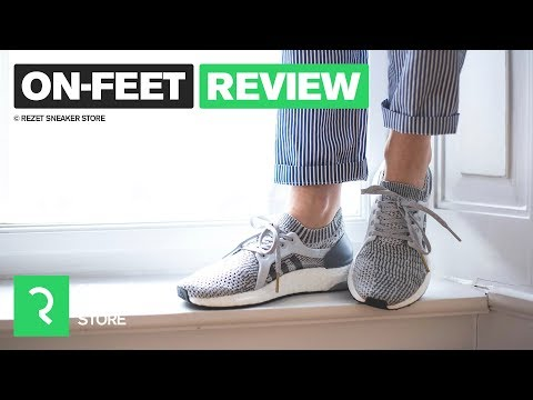 On-feet review - adidas UltraBOOST X видео