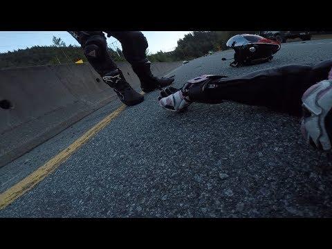 A Near Fatal Motorcycle Crash | Suzuki GSX-R750