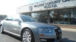 2009 Audi A8 In Review - Village Luxury Cars Toronto