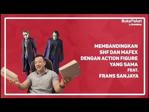 Review Action Figure Joker Mafex VS Shf: Mana Yang Paling Keren? | BukaPaket For Him