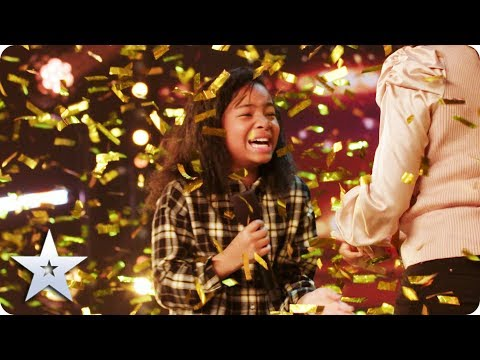 Simon's GOLDEN BUZZER: Fayth Ifil is ROLLIN' all the way to the Semi-Finals!  | BGT 2020