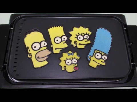 The Simpsons Pancake Art