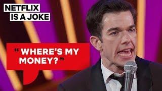 John Mulaney Got Cheated Out of $120K   Netflix Is A Joke