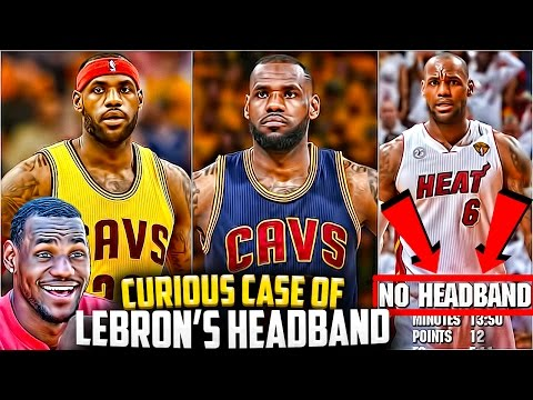 The Curious Case Of LEBRON's Headband! Why LeBron James Got Rid Of The Headband!