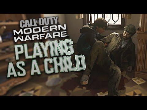 Call of Duty: Modern Warfare  2019 - Playing as a Child // Farah 20 Year Flashback