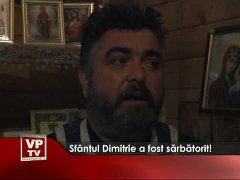 Sfântul Dimitrie a fost sărbătorit!