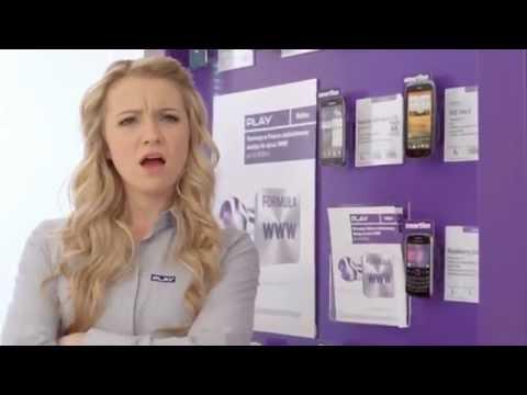 Reklama Play- Piękna Blondynka :) HD