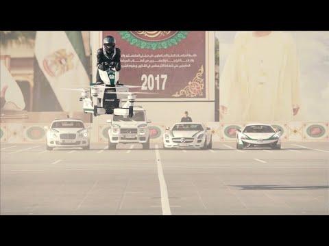 Dubain lentävä poliisi