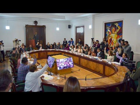 Cabildo H. Ayuntamiento de Tlalnepantla de Baz 23 enero 2020