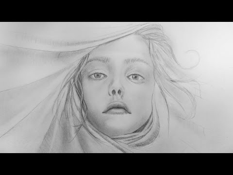 ✎ PORTRAIT ZEICHNEN IM ZEITRAFFER #3 |STERNZEICHEN JUNGFRAU | VIRGO