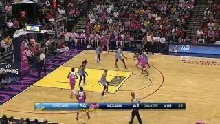 Team Effort Leads Fever Over Sky 95-88 by WNBA