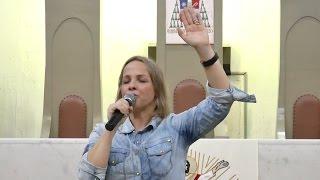 """""""Jesus é a minha força e coragem"""" – Juliane Morigi"""