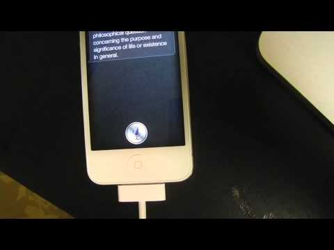 iPhone 4S: What Can You Say to Siri? Funny Easter Eggs