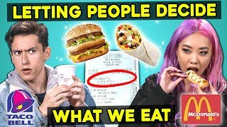 Video Letting The People In Front of Us Decide What We Eat   Guess That Generation MP3, 3GP, MP4, WEBM, AVI, FLV Agustus 2019