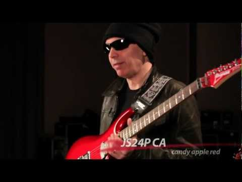 ibanez - Virtuoso guitarist Joe Satriani introduces his latest signature model, the Ibanez JS24P in Candy Apple. Joe discusses the features of the model, including th...