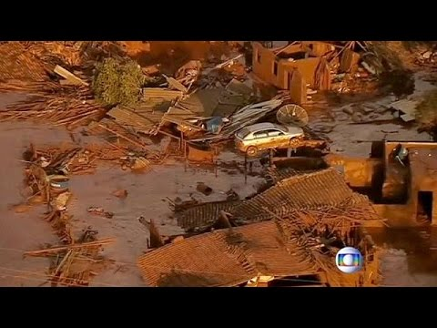 Βραζιλία: Πόλη καλύφθηκε από λάσπη μετά από κατάρρευση φράγματος