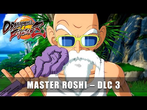 DRAGONBALL FighterZ – Master Roshi Announcement Trailer