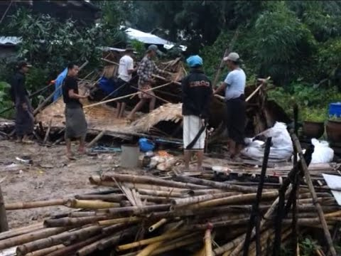 150 homeless as whirlwind sweeps through Rangoon