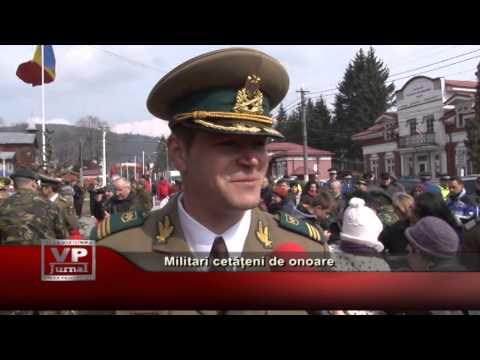 Militari cetățeni de onoare