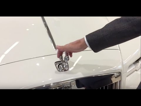 What Happens When You Try To Steal A RollsRoyce Hood
