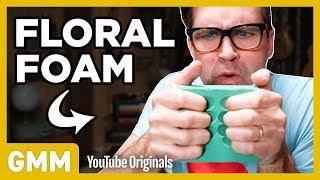 Video We Try Floral Foam Crushing ASMR MP3, 3GP, MP4, WEBM, AVI, FLV Juli 2018