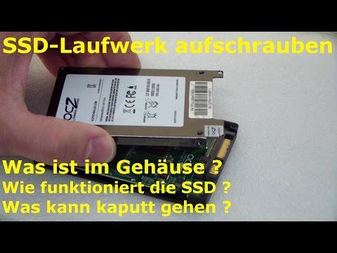 SSD in Einzelteile zerlegen - Überraschung - was ist eingebaut?