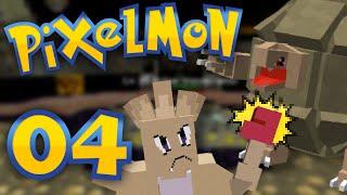 Pixelmon - Episode 4 | Rocking the First Gym! by Munching Orange