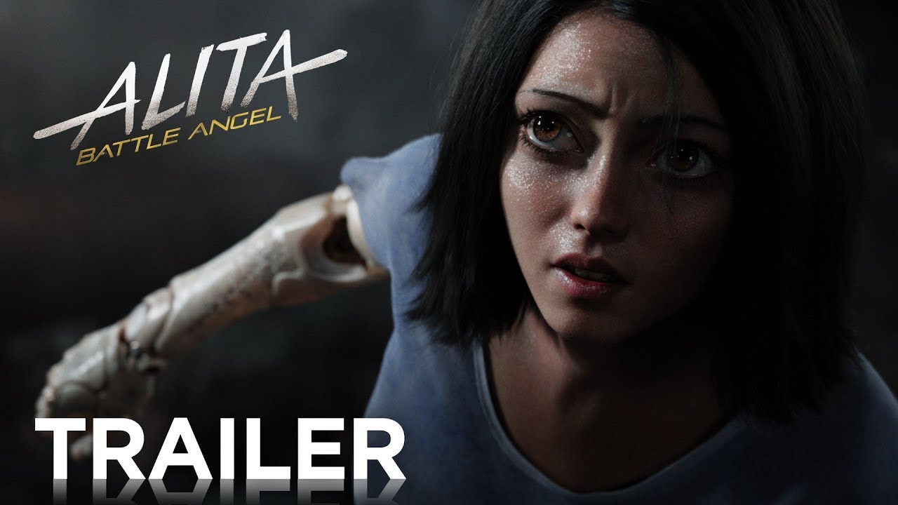Check Out James Cameron & Robert Rodriguez Sci-Fi Action-Packed 'Alita: Battle Angel' (Trailer)