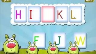 Kids Learning Letters YouTube video