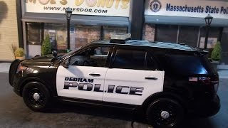Dedham (MA) United States  city images : Dedham MA Police 1/18th scale.