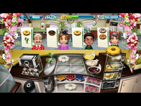Cooking Fever TOURNAMENT Bakery Level 20