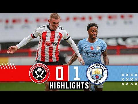Sheffield United 0-1 Man City   Premier League highlights   Kyle Walker goal denies Blades