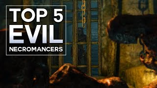 There is a greater evil than just taking someone's life..  Here, I list my Top 5 Evil Necromancers in Skyrim.  These are some of the most powerful characters in the Black Arts, and will likely be some of the hardest enemies you ever face.  I also do other Top 5s, like Skyrim secrets.  There are secret locations, even secret enemies and quests to be found.  Which usually lead to weird theories.Since I'm on PC, I love the Skyrim new mods.  There are quest mods and follower mods that are outstanding.  They make creating character builds, or looking for rare encounters, or the hardest bosses a lot more fun.  Even finding sad deaths in some of the more disturbing locations.Please like, comment, and subscribe, and if you want to talk, my other social media is below : )https://www.instagram.com/graenolfhttps://www.facebook.com/graenolf