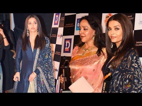 Aishwarya Rai Bachchan Honoured At Dadasaheb Phalk