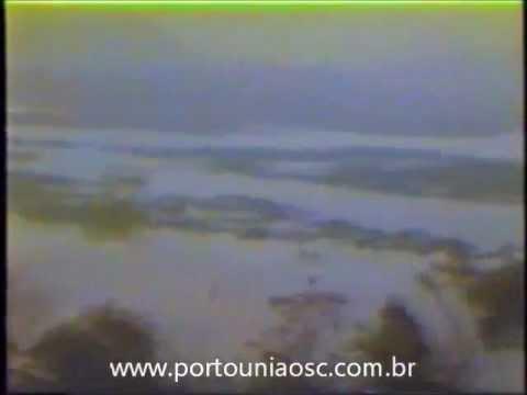 Enchente de 1983 - Porto União da Vitória (Video Completo).flv