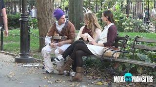 Video Homeless Man Picks Up Girls By Singing! MP3, 3GP, MP4, WEBM, AVI, FLV Agustus 2018