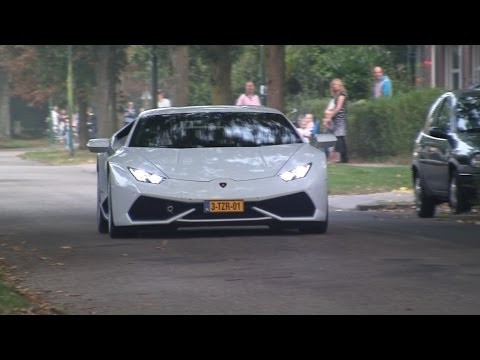 accelerating - In this video you see some very good looking and good sounding exotic cars like the new Lamborghini Huracan LP610-4, Ferrari 360 Challenge Stradale, Jaguar F...