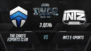 Chiefs vs INTZ, game 1