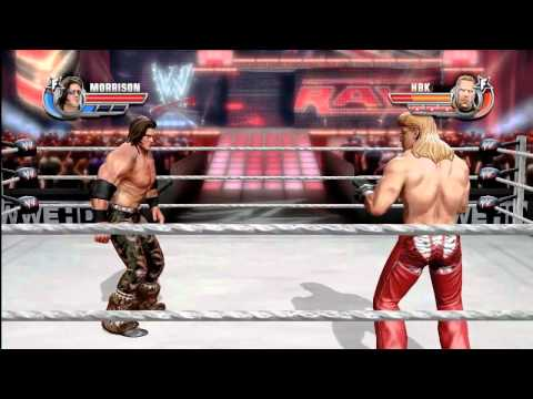 WWE All Stars: Shawn Michaels vs John Morrison - HIGH FLYING FULL MATCH