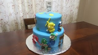 How To Make Mario Cake Charecters
