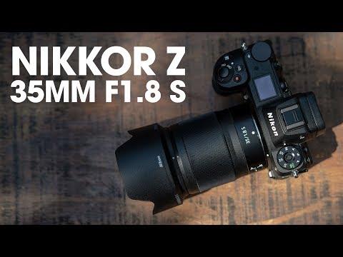 Trên tay & trải nghiệm ống kính Nikkor 35mm f/1.8 S dành cho máy ảnh Mirrorless Nikon Z - Thời lượng: 5 phút.
